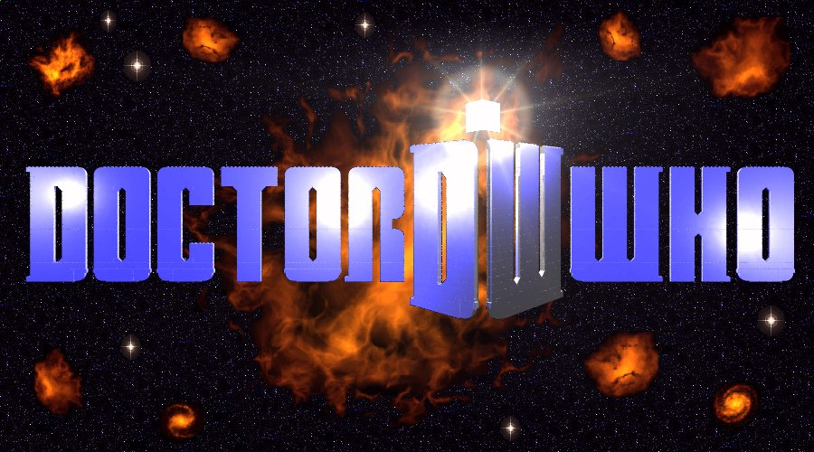 Doctor Who Logo Regular Page