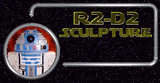 R2D2 Sculpture Menu Button