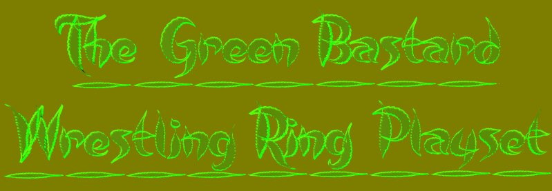 TPB Green Bastard Ring Title