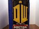 Close-up of Doctor Who Logo