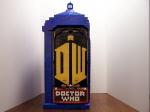 Cabinet Side With Doctor Who Logo, Marquee and Now Showing Blu-Ray Holder