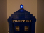 Top Of Tardis With Beacon Lit
