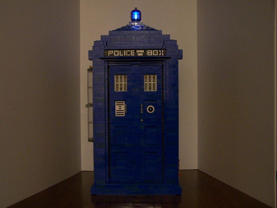 Tardis With Light On