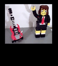 Angus Young Robot With Guitar