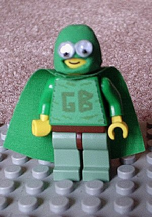 Bubbles as The Green Bastard